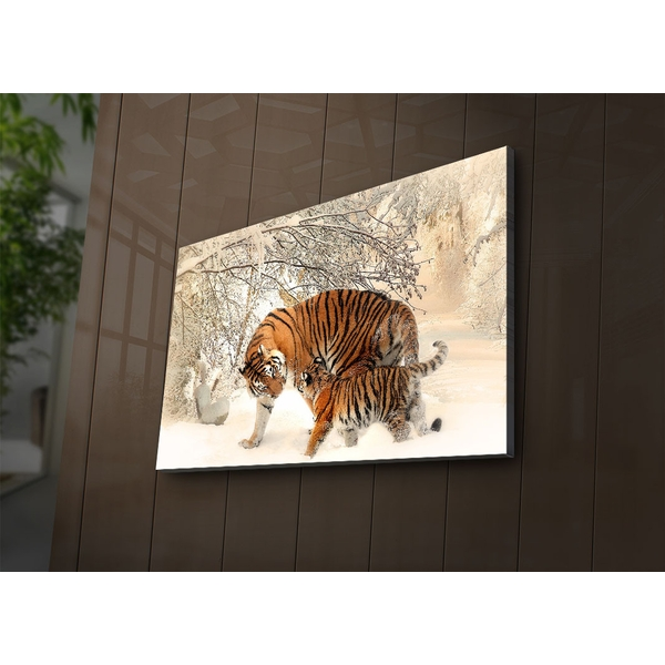 4570?ACT-81 Multicolor Decorative Led Lighted Canvas Painting