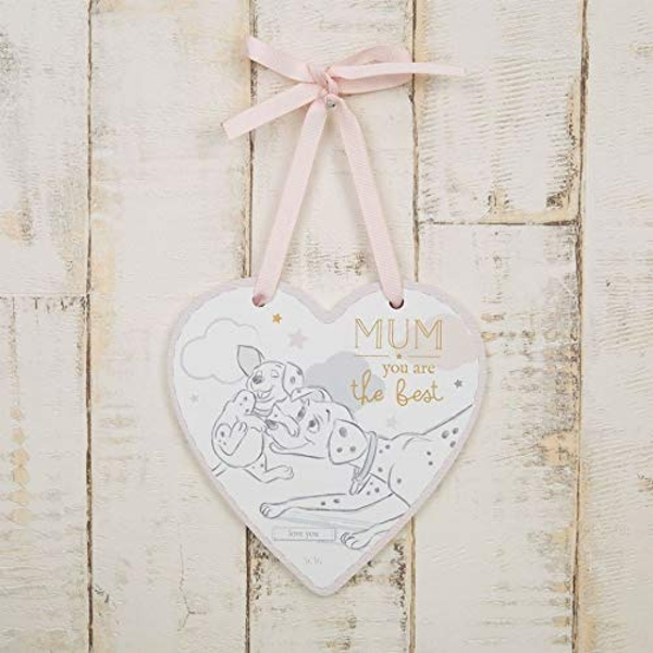 Disney Magical Beginnings Dalmatian Plaque - Mum