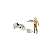 Ex-Display Poe Dameron & Speeder Bike (Star Wars: The Force Awakens) 12 Inch Figure Used - Like New