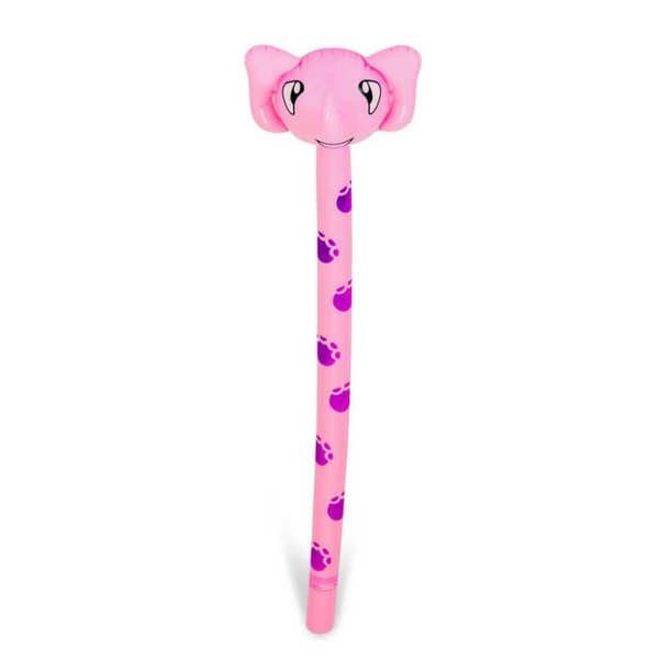 Inflatable Animal Elephant Toy (Pink & Purple)