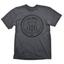 Bioshock Columbia Customs & Excise 1907 Mens Medium T-Shirt - Grey