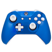 Polar Chrome Blue Xbox One S Controller