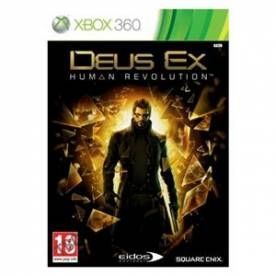 Deus Ex Human Revolution Game Xbox 360