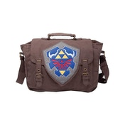 Nintendo Legend of Zelda Hylian Shield Brown Messenger Bag