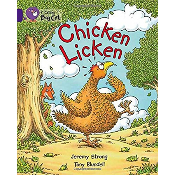 Chicken Licken: Band 08/Purple (Collins Big Cat) by Jeremy Strong (Paperback, 2007)