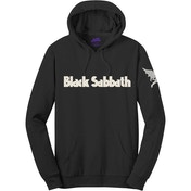 Black Sabbath - Logo & Daemon Men's Medium Pullover Hoodie - Black