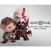 Kratos & Atreus (God Of War) Mini Figure Double Pack