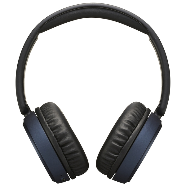JVC HAS65BNAU Superior Sound Bluetooth Headphones with Noise Cancelling - Blue