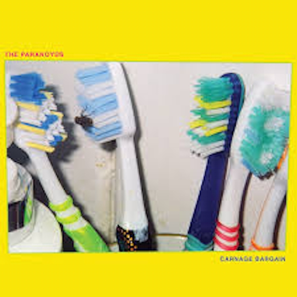 The Paranoyds – Carnage Bargain Limited Edition Blue Vinyl