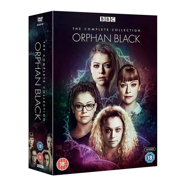 Orphan Black - The Complete Collection DVD