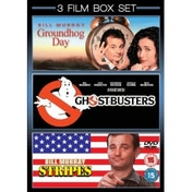Groundhog Day / Ghostbusters / Stripes DVD