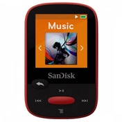 SanDisk Clip Sport 4GB MP3 Player Red