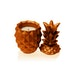 Orange Concrete Pineapple For Her Candle - Image 2