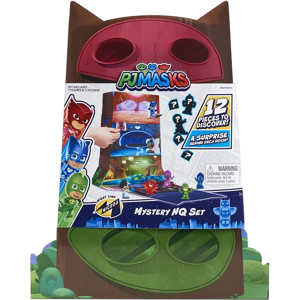 Night Time Micros Mystery HQ (PJ Masks) Figures