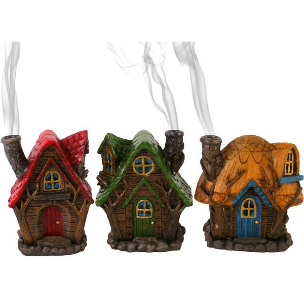 Fairy House Incense Cone Holder