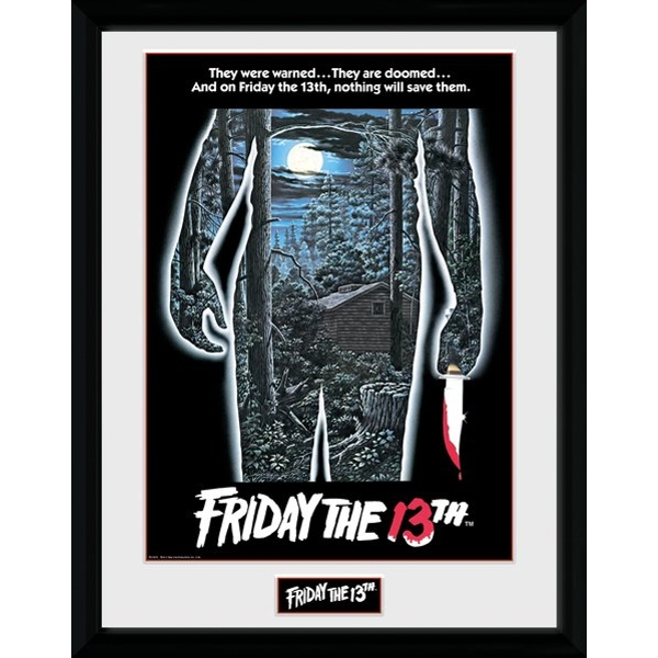 Friday the 13th Poster Collector Print