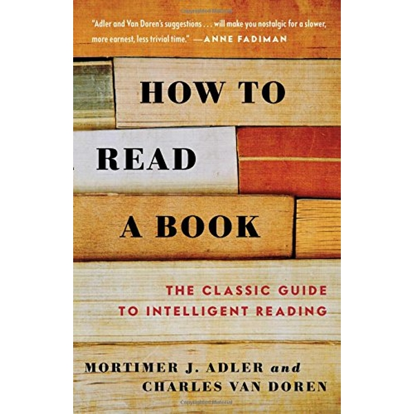 How to Read a Book by Adler (Paperback, 1972)