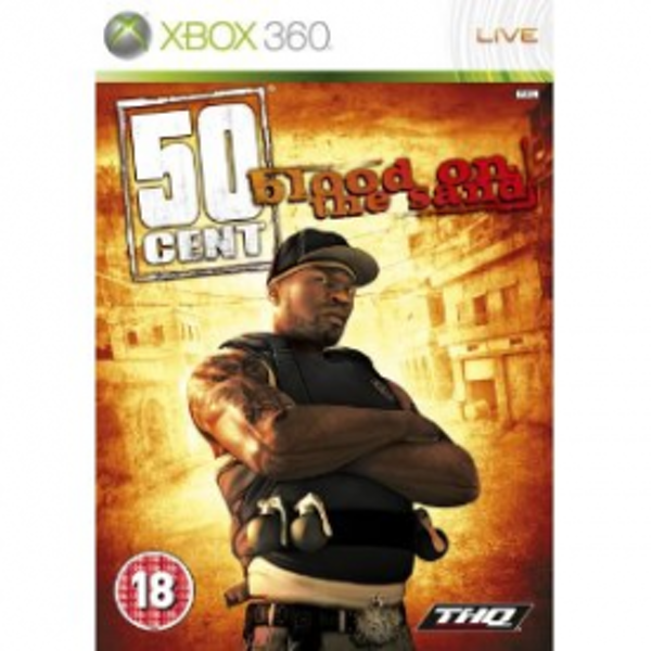 50 Cent Blood On The Sand Game Xbox 360