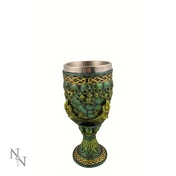 Emerald Grip of Death Skull Goblet