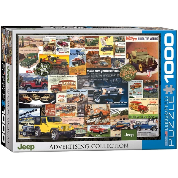 Jeep Advertising Collection Eurographics 1000 Piece Jigsaw Puzzle