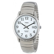 Timex Mens Classic Stainless Steel Expandable Watch T2H301