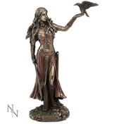 Morrigan and Crow Figurine
