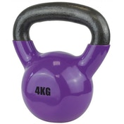 UFE Vinyl Coated Kettlebell 4kg Purple