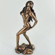 Sabrina By Love Is Blue Cold Cast Bronze Sculpture 23cm