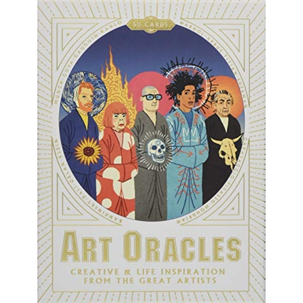 Art Oracles Creative & Life Inspiration from the Great Artists Cards 2017