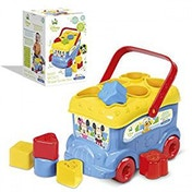 Clementoni Mickey and Friends Shape Sorter Bus