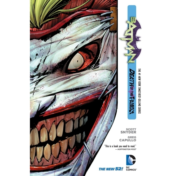 DC Comics Batman Volume 3 Death of the Family Hardcover The New 52