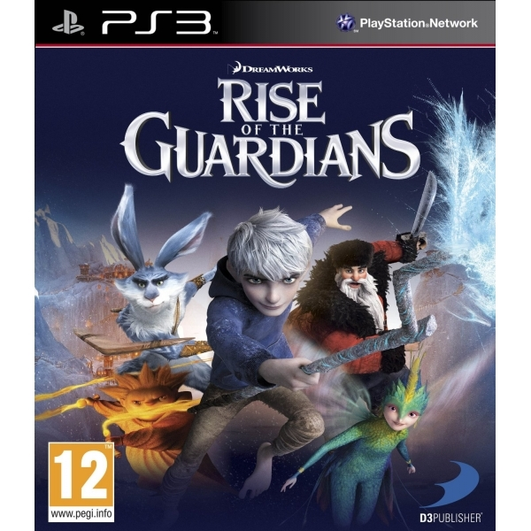 Dreamworks Rise of the Guardians Game PS3
