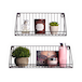 Wall Mounted Wire Shelves - Set of 2 | M&W - Image 6