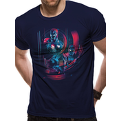 The Avengers Infinity War - Iron Spidey Group Men's Small T-Shirt - Black