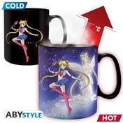 Sailor Moon - Heat Change Sailor & Chibi Mug