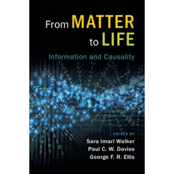 From Matter to Life: Information and Causality by Cambridge University Press (Hardback, 2017)