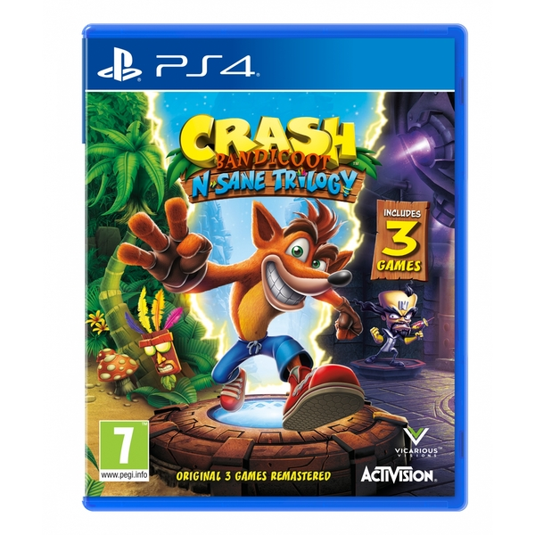 Crash Bandicoot N. Sane Trilogy PS4 Game - Image 1