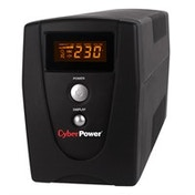 CyberPower VALUE600EILCD 600VA 3AC outlet(s) Tower Black uninterruptible power supply (UPS)