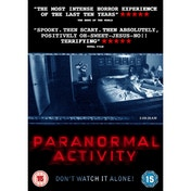 Paranormal Activity DVD