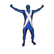 Premium Morphsuit Scotland Flag X-Large