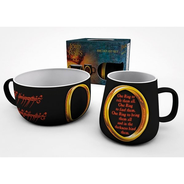 Lord of the Rings One Ring Breakfast Set