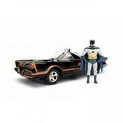 Batmobile (Batman 1966) Jada Diecast Model With Batman & Robin 1:24