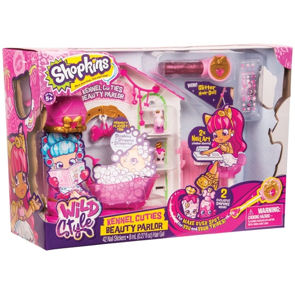 Shopkins - Kennel Cuties Beauty Parlor Playset