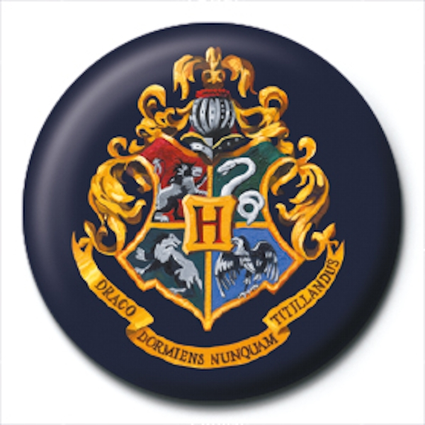 Harry Potter - Hogwarts Crest Badge - Image 1