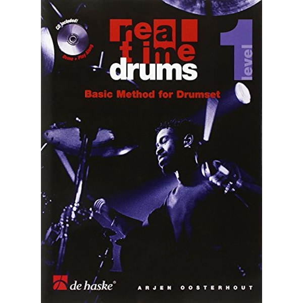 REAL TIME DRUMS 1 ENG  Paperback 2017