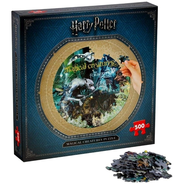 Harry Potter Magical Creatures Jigsaw Puzzle - 500 Pieces - Image 1