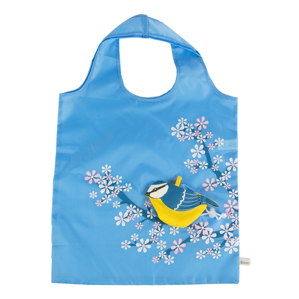 Sass & Belle Bluebird Foldable Shopping Bag