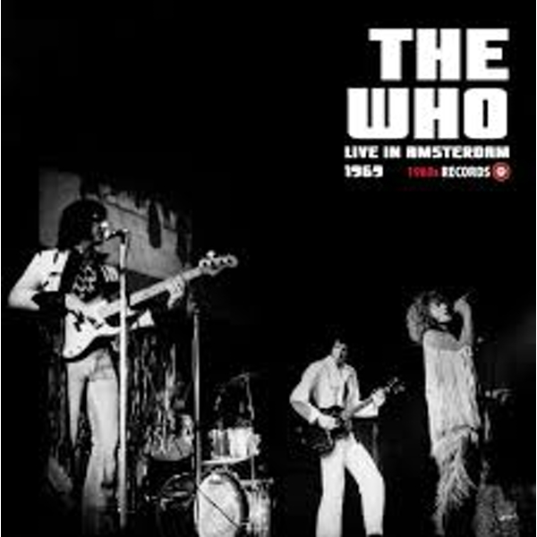 The Who ‎– Live In Amsterdam 1969 Vinyl