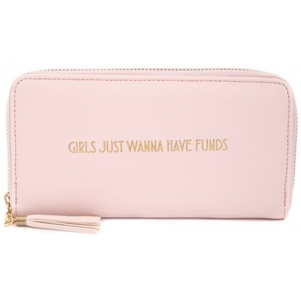 Pink Girls Just Wanna Have Funds Purse