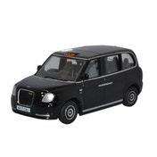 1/76 LEVC Electric Taxi Black Diecast Model